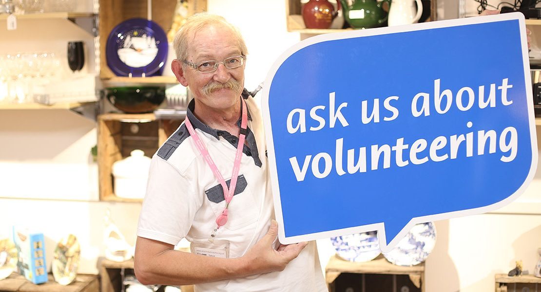 St Nicholas Hospice Care volunteer