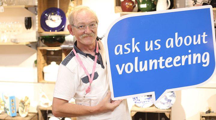 St Nicholas Hospice Care volunteer