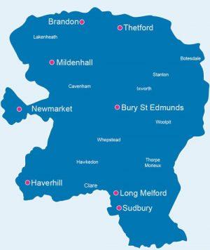 East Anglia Map east anglia map blank cutout   St Nicholas Hospice Care website