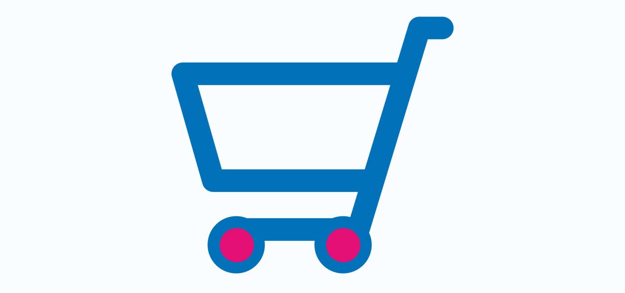shoppingtrolleyicon st nicholas hospice care website