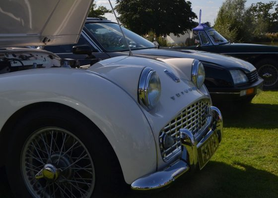 classic and sports cars by the lake st nicholas hospice care