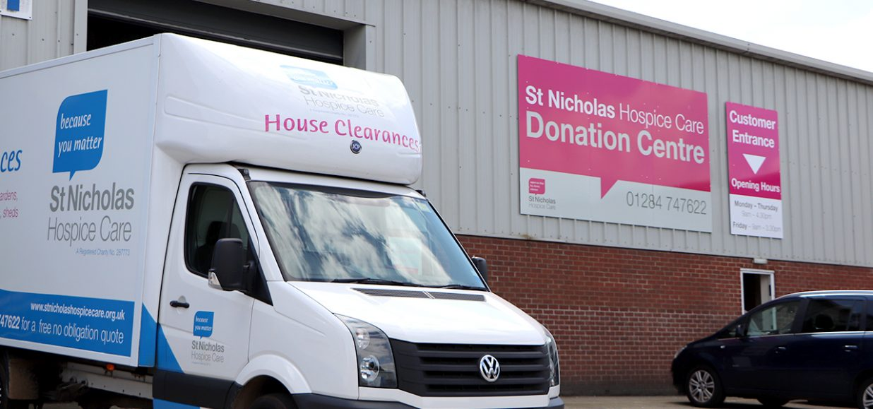 The Donation Centre – Bury St Edmunds