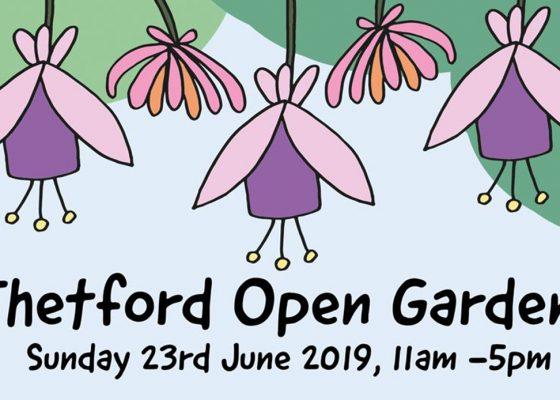 Thetford Open Gardens 2019