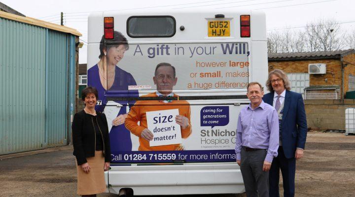 st nicholas hospice care size doesnt matter campaign