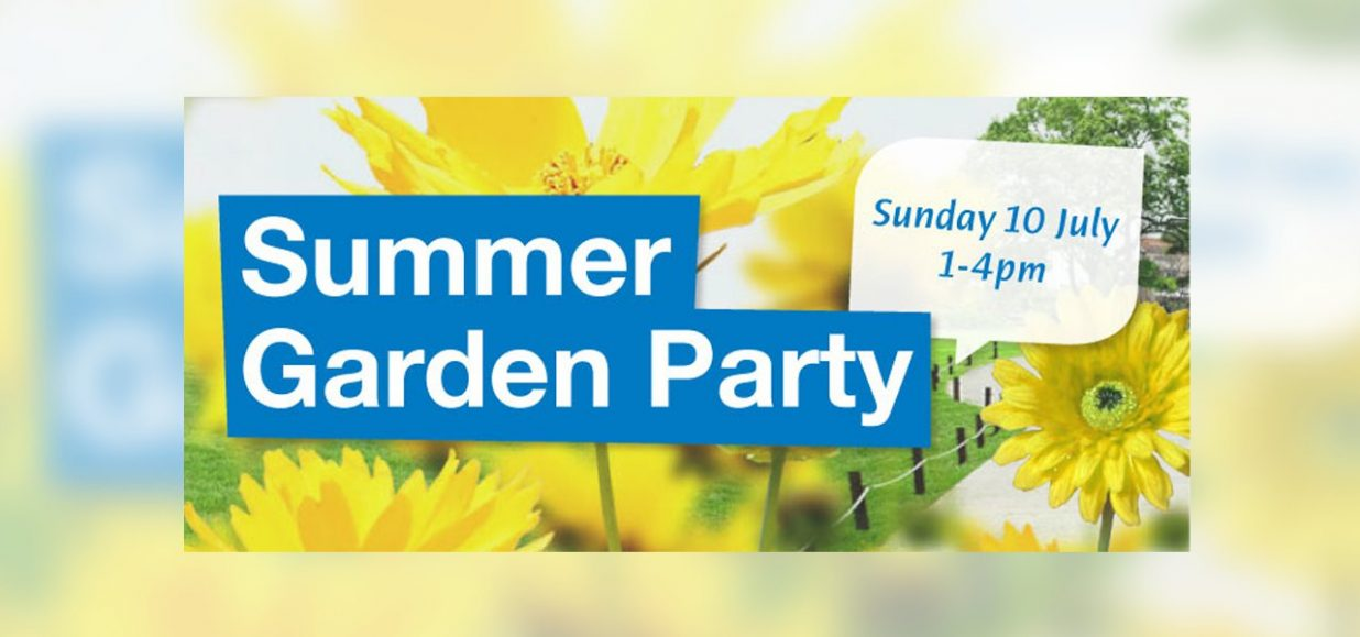 Summer Garden Party for staff and volunteers