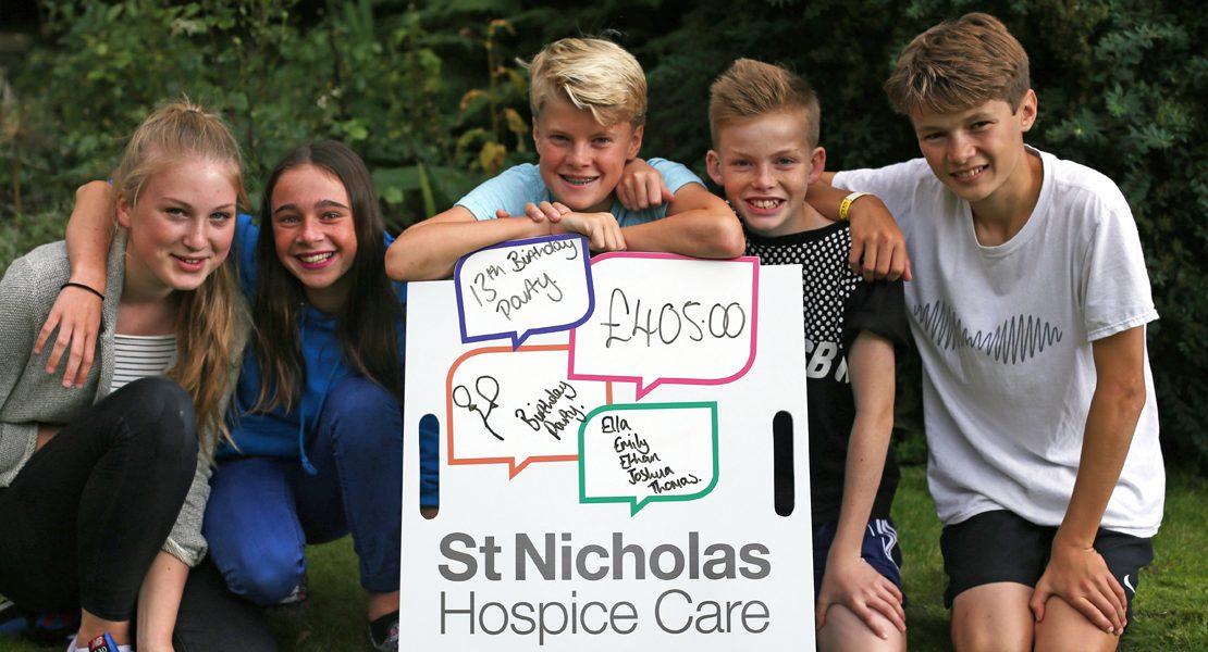 st nicholas hospice care donate a birthday
