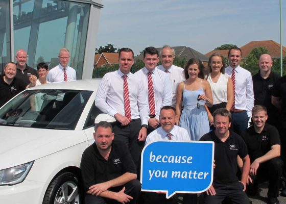 Audi donation will make a big difference to us