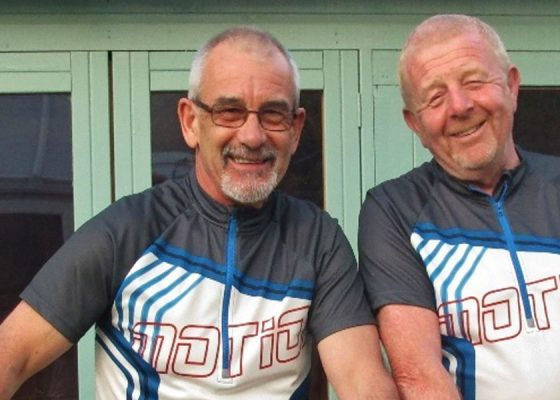 Malcolm's cycle ride in memory of Yvonne