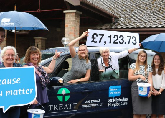 Charity takeover raises more than £7,000