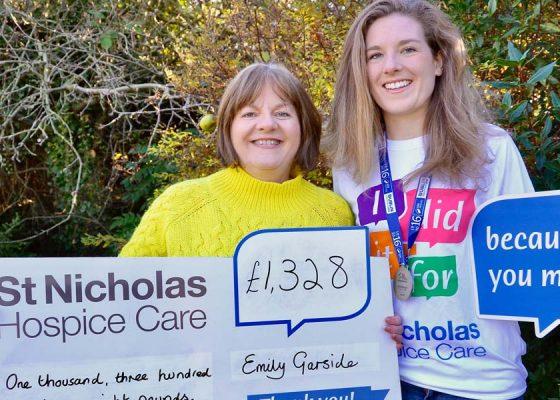 Emily's Dublin Marathon effort raised funds