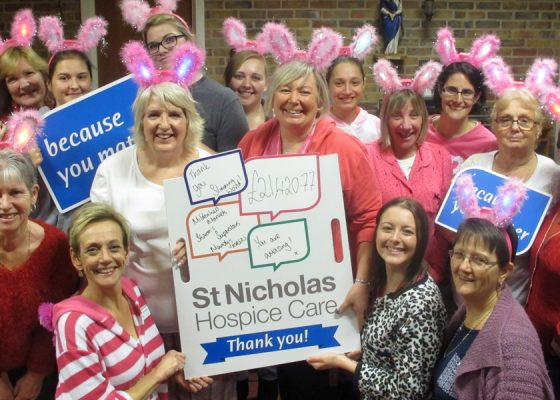 Women take fundraising in their stride
