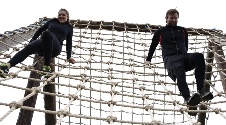 Battle of the Knights Cargo Net St Nicholas Hospice Care