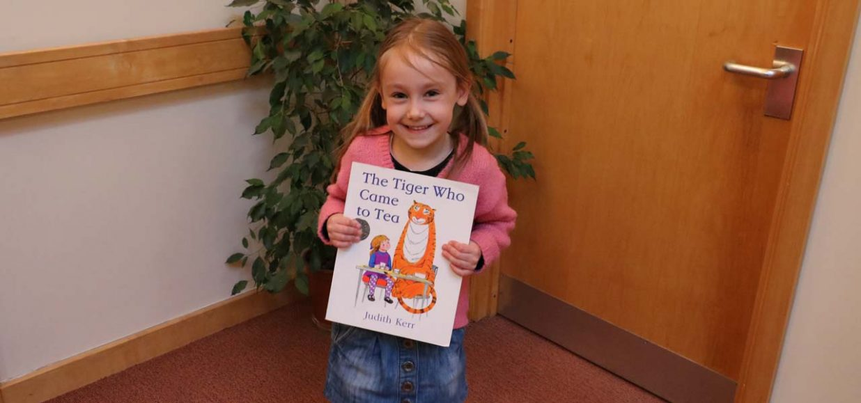 Esmee's Big Read is racing through the pages for Hospice
