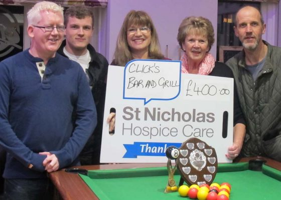 Fundraisers pull out all the stops for Hospice