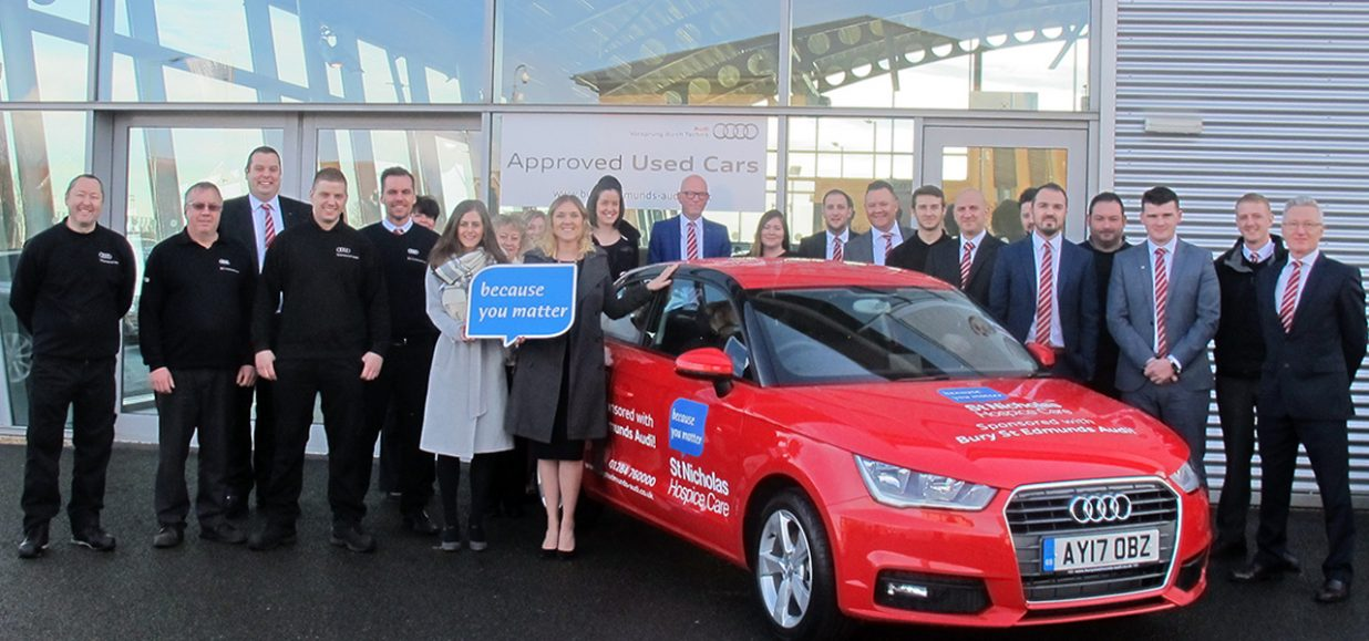Hospice given a helping hand by Audi
