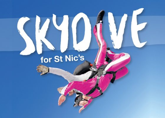 Fundraisers needed to make sure a charity skydive day soars