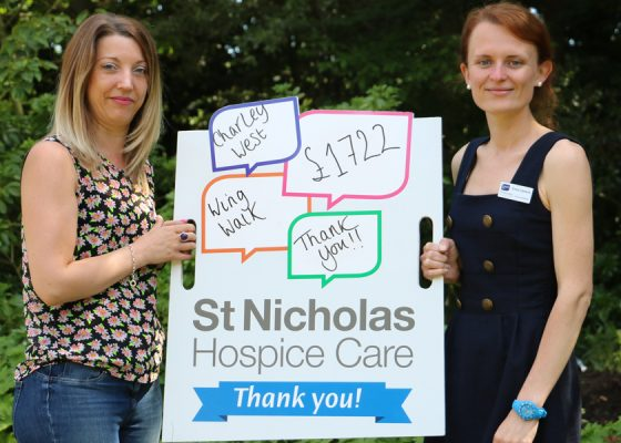 Fundraiser takes to the skies for Hospice