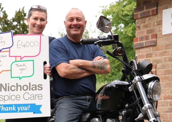 Bike show raises thousands for Hospice