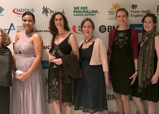 Hospice team honoured at prestigious BMJ awards