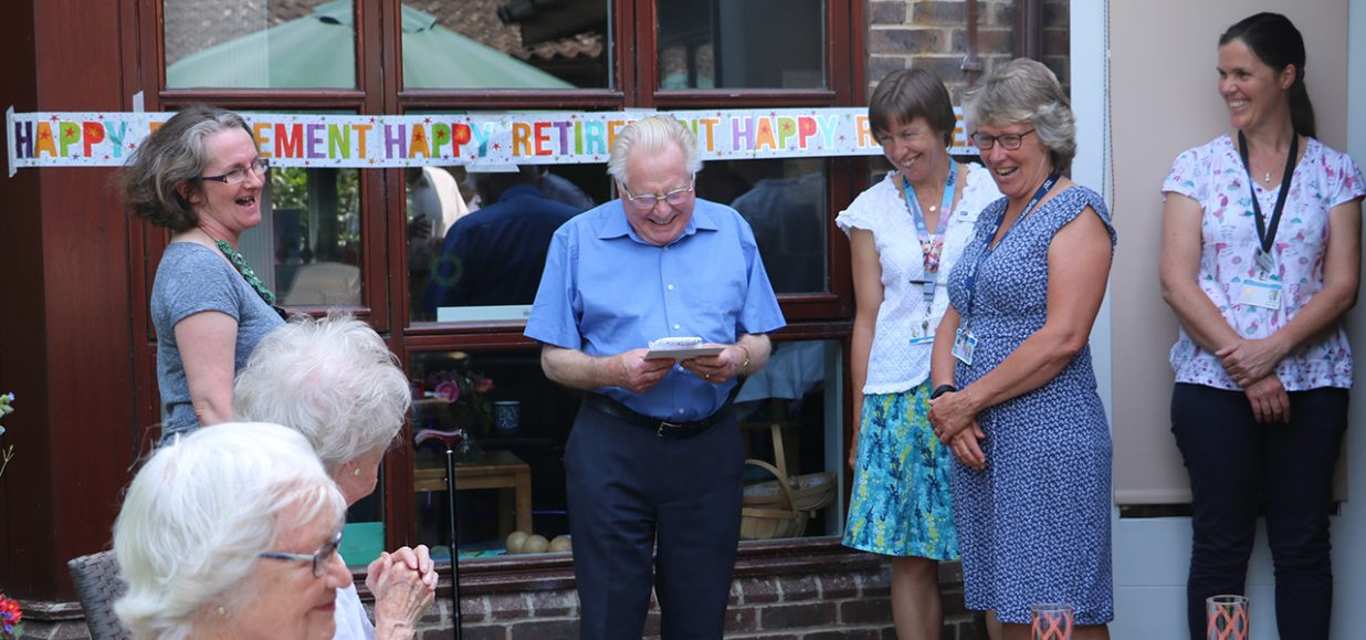 Fond farewell to a dedicated volunteer
