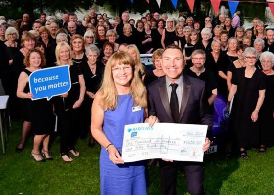 Choir raises voices for good causes