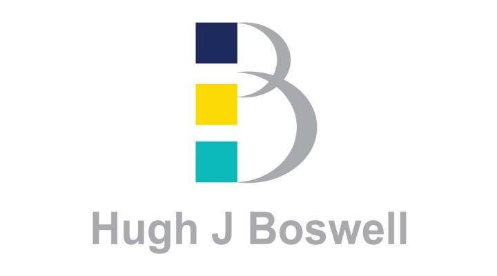 the logo for Hugh J Boswell