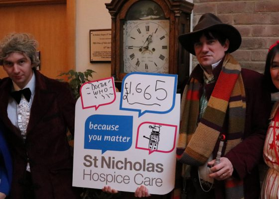 Time Lords use their powers to raise charity funds