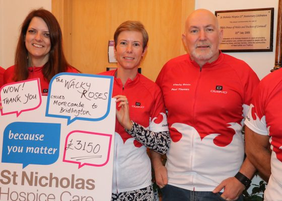 Two-wheeled charitable efforts raised funds in Mark's memory
