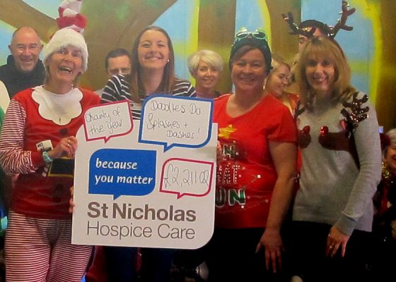 Year-long efforts lead to thousands for Hospice
