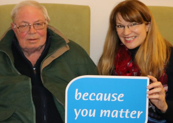 Supporter shares good fortune with Hospice