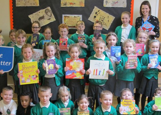 Youngsters take on reading challenge