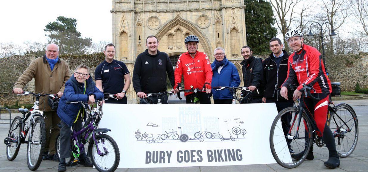 Saddle up for the 'Bury Goes Biking' spectacular