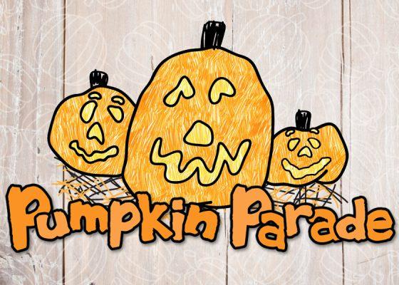 Pumpkin Parade 2019 website banner