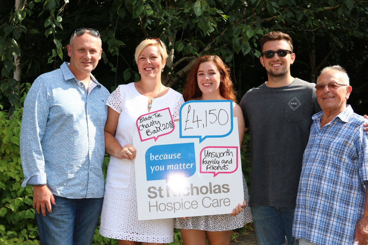 Family's ball raises more than £4,000 for charity