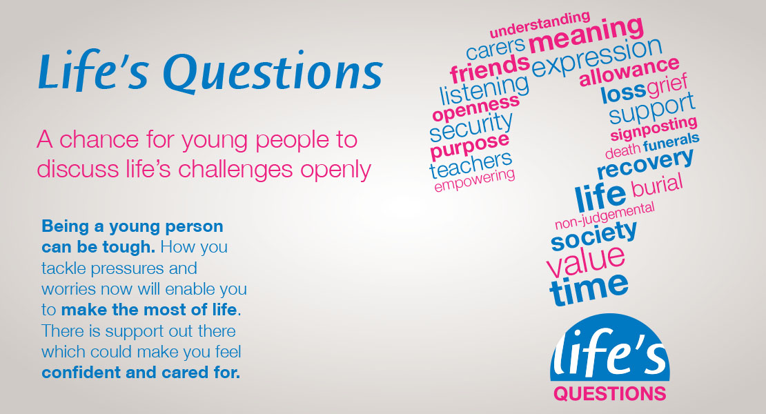 Life's Questions to be highlighted during the Good Grief festival