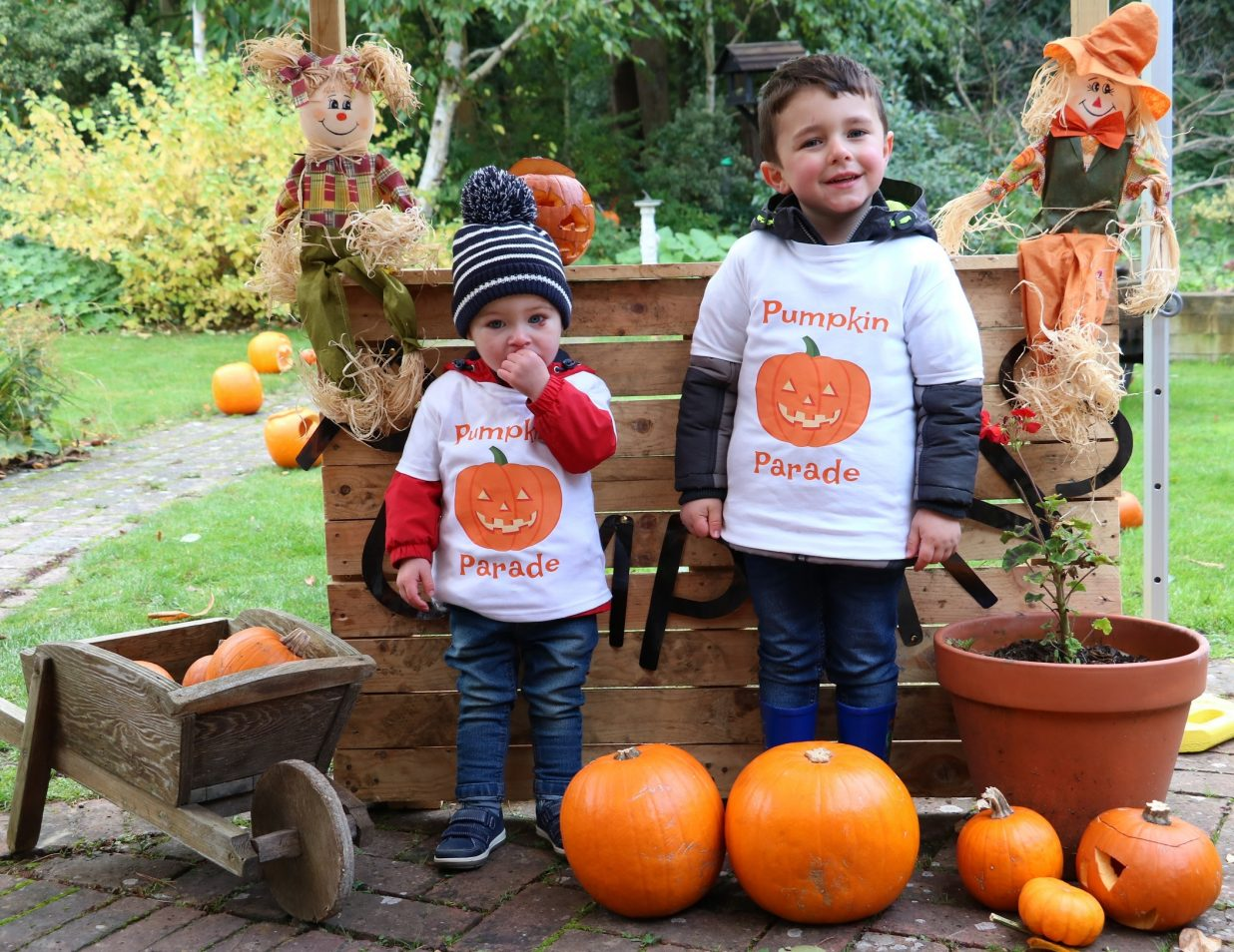 Hospice first Pumpkin Parade is a smash