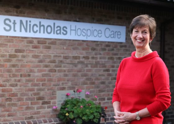 Hospice chief executive recognised in the Queen's New Years Honours