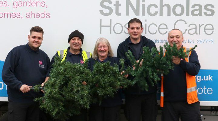 St Nicholas Hospice Care Retail team