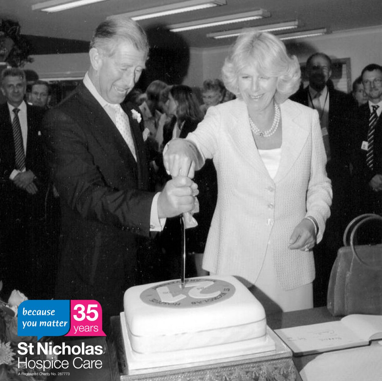 35 stories for 35 years: Royal visits