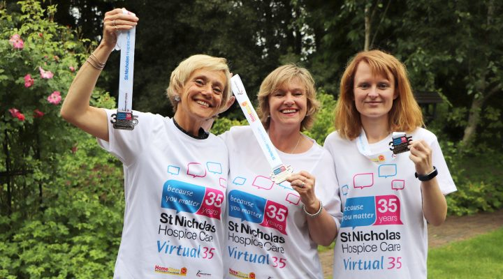 Fundraising Team present Virtual 35 T-shirts