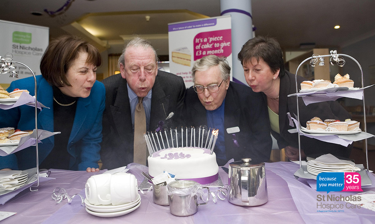 35 stories for 35 years: The Hospice's 25th Birthday celebrations
