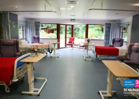 35 stories for 35 years: Hospice's in-patient ward gets a facelift