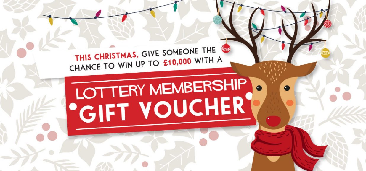 buy a gift membership for the St Nic's lottery