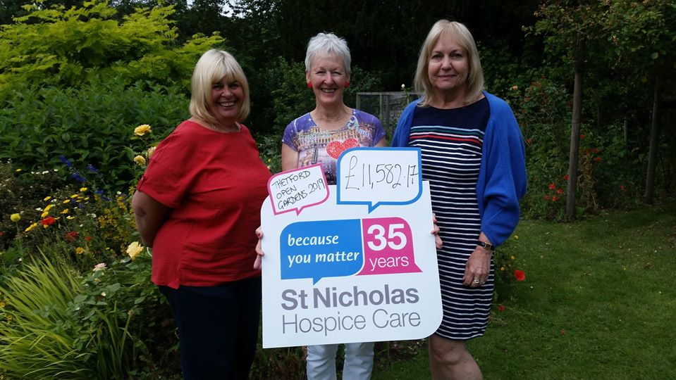 Thetford Open Gardens support continues to grow