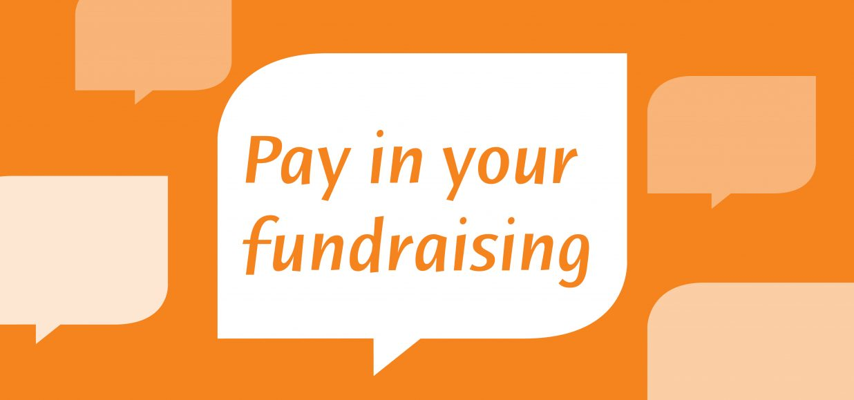 Pay in your fundraising money to St Nicholas Hospice Care