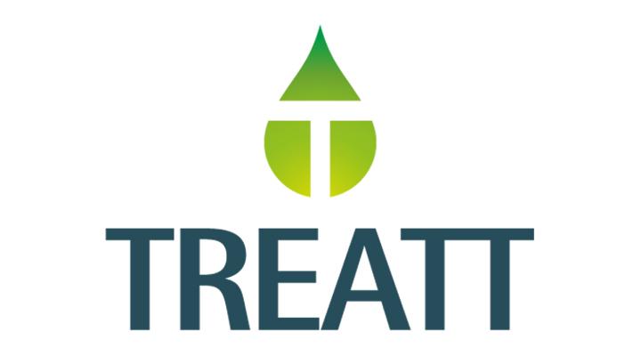The logo for Treatt