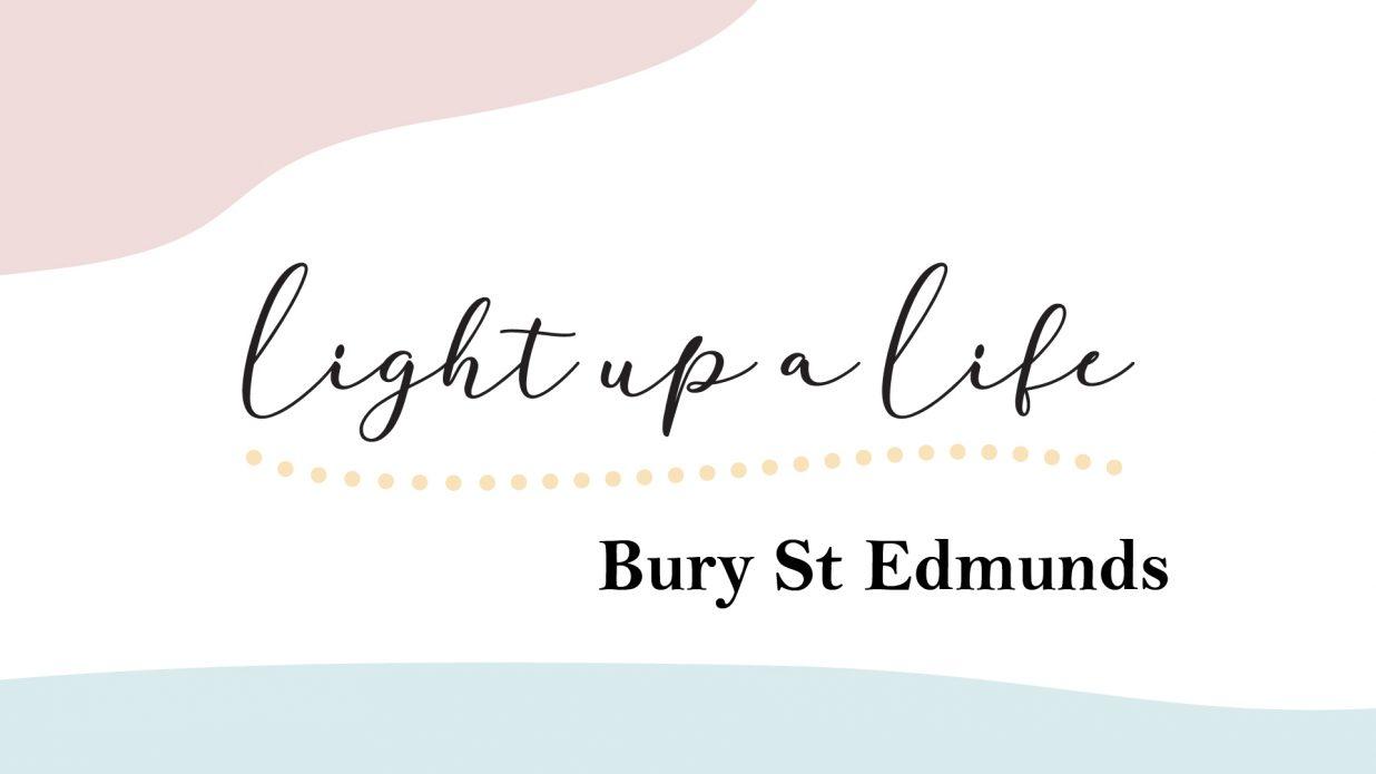 Light up a Life logo for Bury St Edmunds
