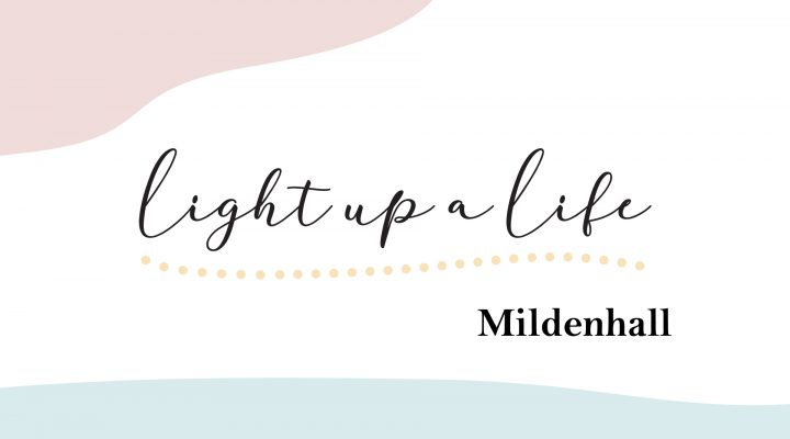 Light up a Life logo for Mildenhall