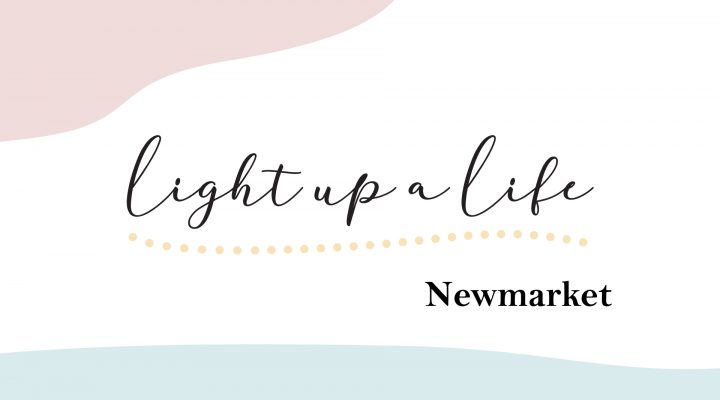 Light up a Life logo for Newmarket