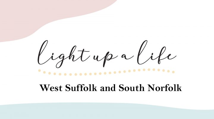 Light up a Life logo for West Suffolk and South Norfolk
